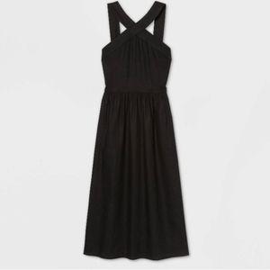 A New Day Sleeveless Linen Dress
